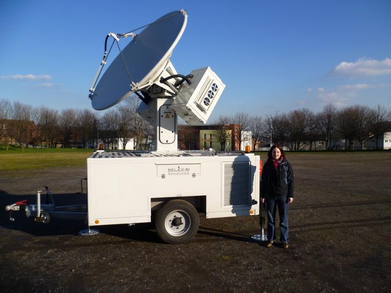 X-band Mobile Weather Radar - AMOF
