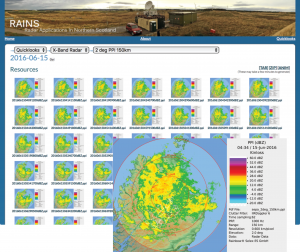 radar data catalogue